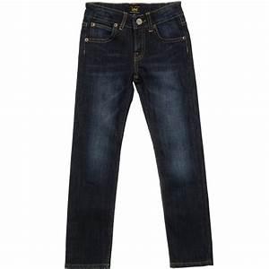 Lee Jeans - Boys Dark Blue u0026#39;Pawellu0026#39; Denim Jeans | Childrensalon