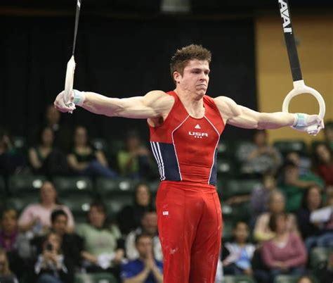 chris brooks holds  iron cross    rings