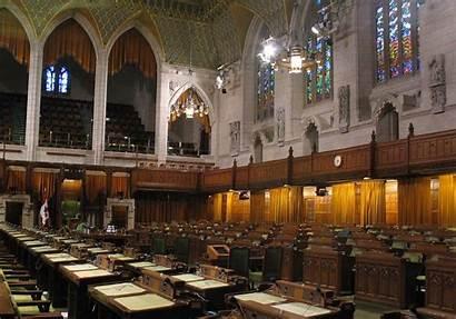 Commons Parliament Canada Chamber Ottawa Panoramio Wikimedia