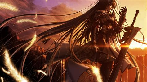 Anime Wallpaper Gallery - anime warrior wallpapers 79 background pictures