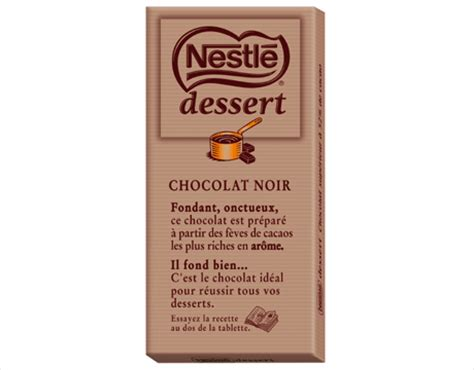 nestl 233 chocolat dessert
