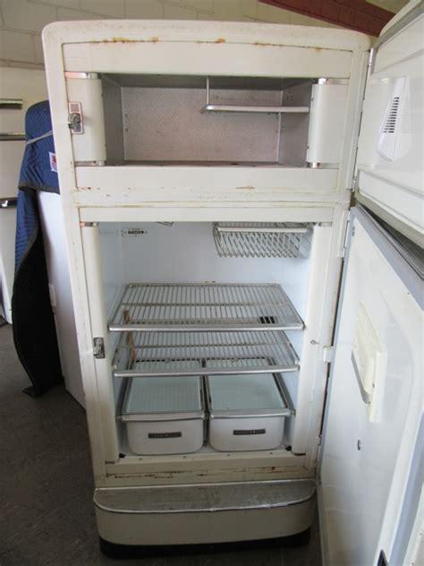 ge combination antique appliances