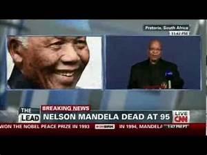CNN Breaking News - Nelson Mandela Dead - YouTube