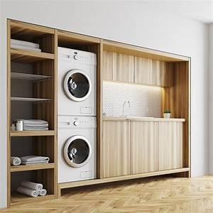Meuble Pour Machine À Laver : meuble sur lave linge 28 images meuble pour superposer ~ Dode.kayakingforconservation.com Idées de Décoration