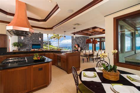 smith brothers pool table hawaiian beachfront tropical dining room hawaii by