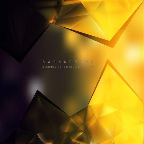 black yellow triangular background template