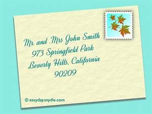addressing informal wedding invitations no inner envelope With addressing wedding invitations without inner envelope guest