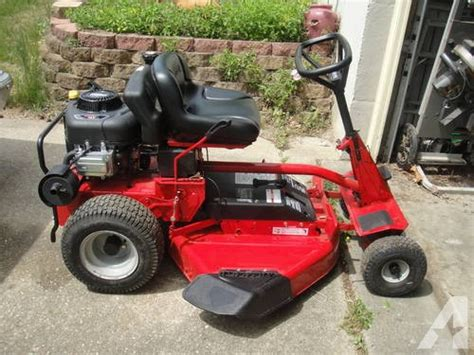 snapper rear engine mower only 3 months for sale in dares maryland