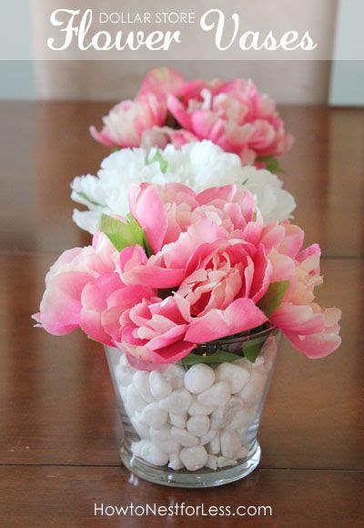 dollar store flower vase centerpieces dollar stores