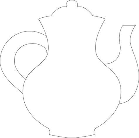 teapot template of cake tea cake for 10