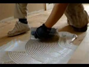 Glue down hardwood flooring on plywood unfinished for How to put down hardwood floors on concrete