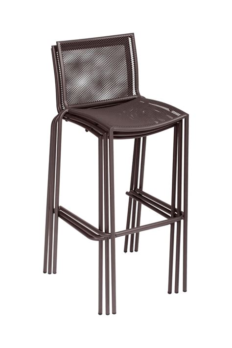 indoor outdoor steel mesh commercial barstool bar