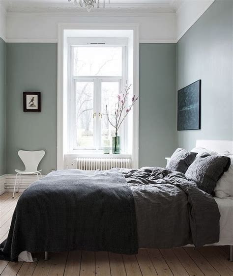 Idea Green Grey Bedroom