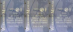 2009 Ford Fusion Shop Repair Service Set Factory Dealership Oem Books 2 Volume Set And The Wiring Diagrams