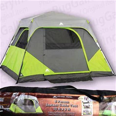 ozark trail 6 person instant cabin tent ozark trail 6 person instant cabin tent cing companion