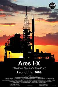 New Ares 1-X mission poster