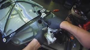 Vw B5  Passat Driver Door Lock Module Replacement