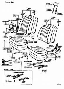 Seat  U0026 Seat Track For 1980