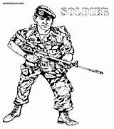 Soldier Coloring Pages Army Military Clipart Print Drawing Draw Remembrance Library Clip Jix Profession Coloringhome Insertion Codes sketch template