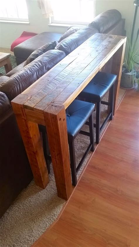 Best 25+ Table Behind Couch Ideas On Pinterest  Diy Sofa