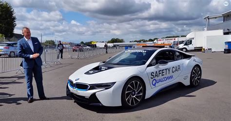 Bmw I8 Safety Car In Action In Uruguay