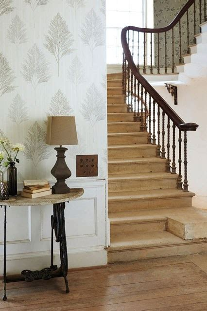 wallpaper hallway ideas gallery