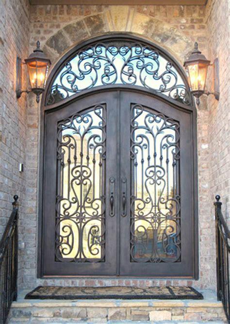 rod iron doors wrought iron door hac0