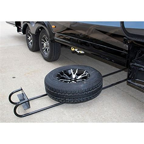Boat Trailer Winch Canadian Tire by Bal 28218 Hide A Spare Tire Storage I Beam Underslung