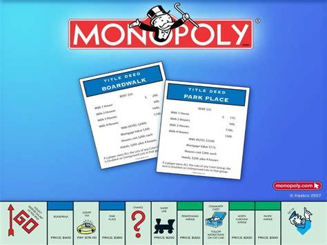 monopoly wallpaper board games wallpaper  fanpop