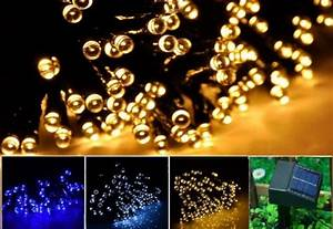Light Up With Led Solar String Lights