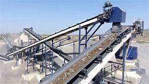 120 Tph Stationary Stone Crusher Plant 2 Stage