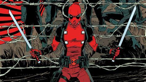 Deadpool Marvel Sword Hd Wallpaper Anime Wallpaper Better