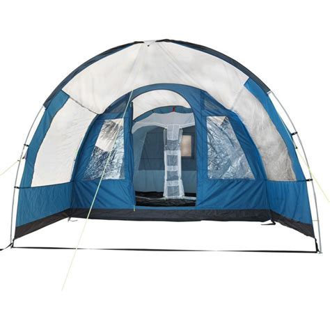 Trespass Go Further 4 Man 2 Room Tunnel Tent.   Tents