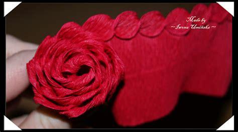 diy unique crepe paper rose