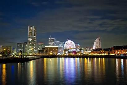 Japan Yokohama Wallpapers Countries Skyline Cityscapes