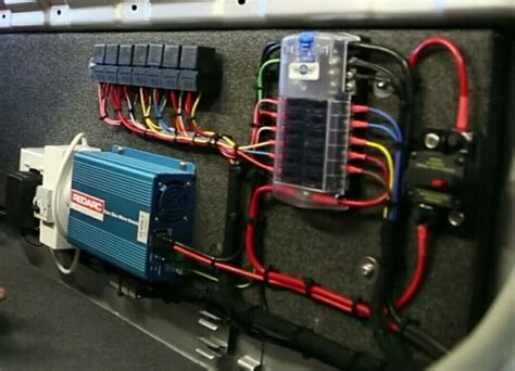 Dual Battery Wiring Fuse Box by 12v Electrical System Hema Map Landcruiser Truck Build