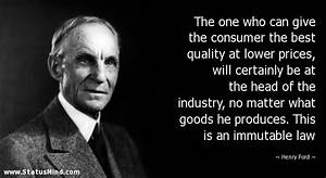 Henry Ford Quot... Legal Professional Quotes