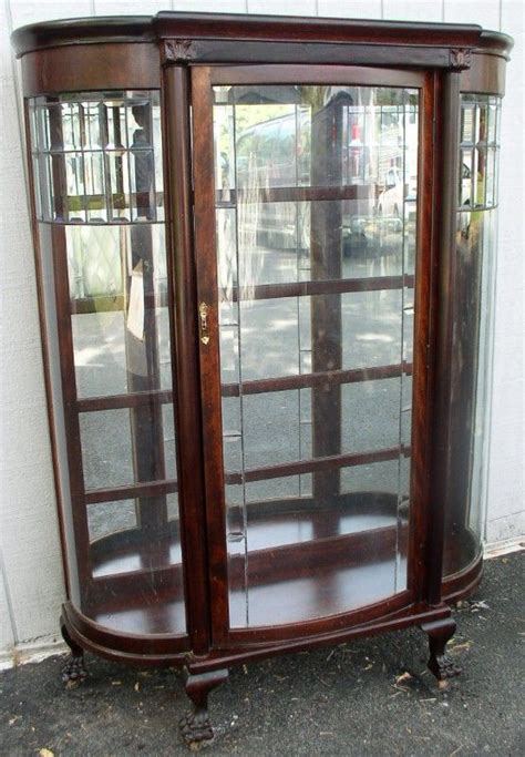 antique glass door cabinet antique china cabinet with glass doors information 4087