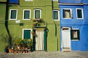 Italy Painted Houses