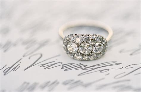 Vintage Infinity Engagement Ring