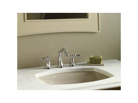 kohler kelston white undermount bath sink faucet com k 2382 47 in almond by kohler