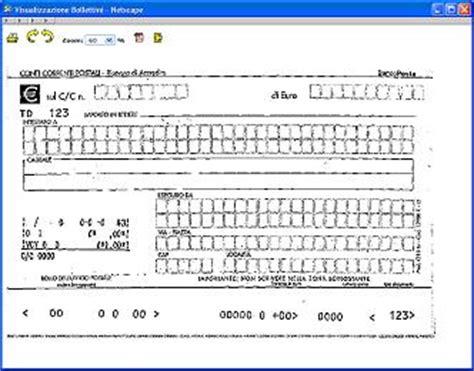 codice ufficio postale poste italiane bollettino report gold