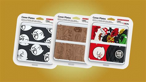 new 3ds cover plates collectors corner new 3ds cover plates nintendo wire