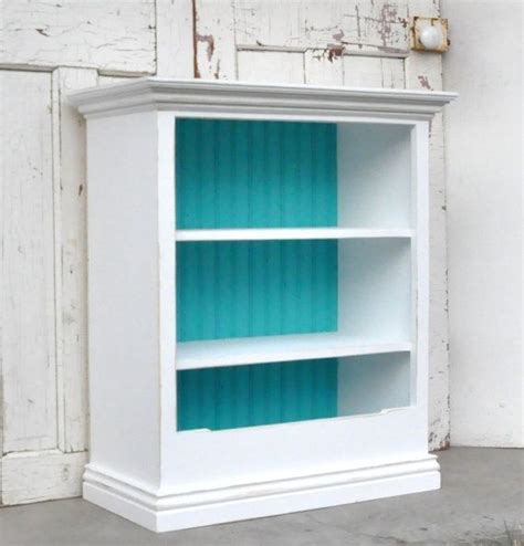 add moulding to plain bookcase paint distress add