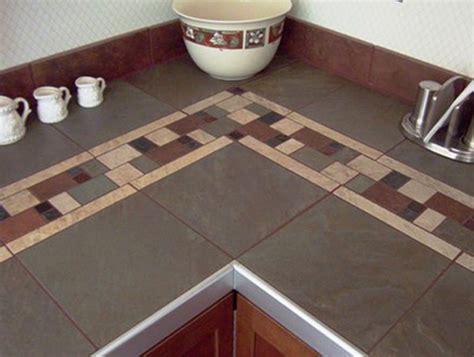 glass tile countertop classique floors tile ceramic tile