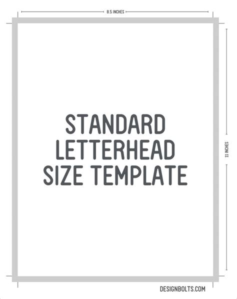 standard business card size letterhead envelop