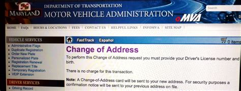 mva change of address form change of address mva form