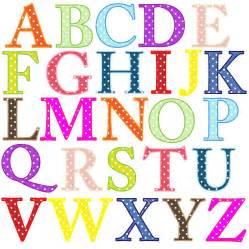 Free Alphabet Letters Clip Art