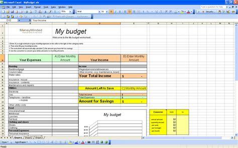 free finance spreadsheet personal budget worksheet calendar template 2016