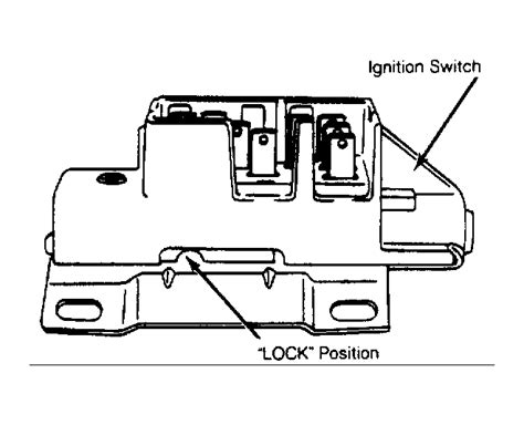 2005 Suburban Ignition Switch by How To Install A Ignition Switch On A 1990 Tilt Sterring